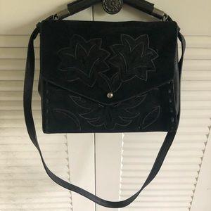 Sam Edelman Bags - Sam Edelman Black Sophie Embroidered Shoulder Bag